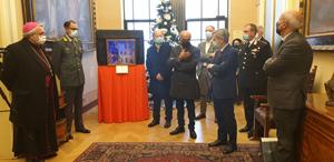 Verso il Natale - Inaugurato nel palazzo della Provincia di Perugia il presepe realizzato dal maestro Giulio Mariucci, artista geniale recentemente scomparso