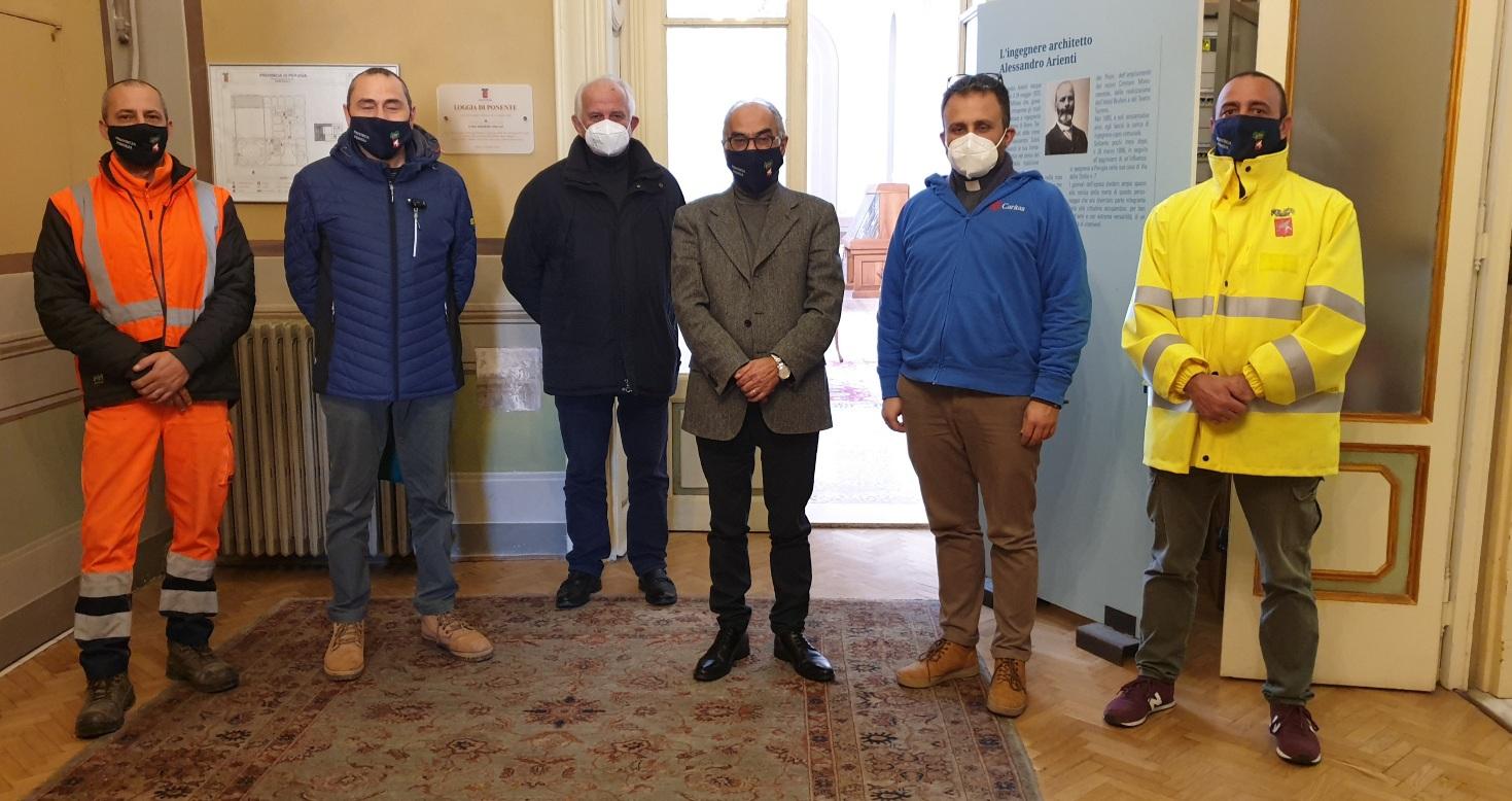 L'iniziativa - La solidarietà dei dipendenti della Provincia di Perugia accanto alla Caritas