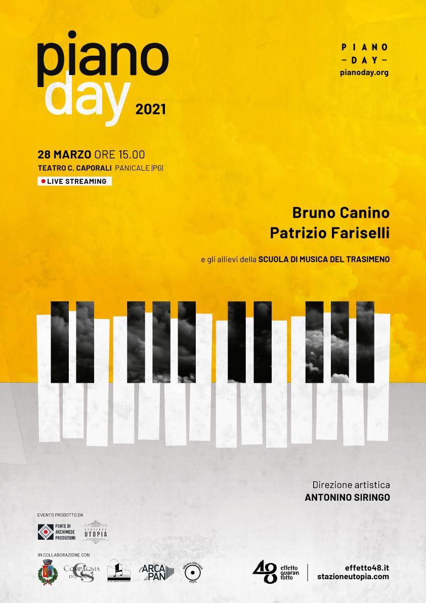 """""""Piano Day 2021"""", Panicale e Modena rappresentano l'Italia nell'evento mondiale del 28 marzo"""