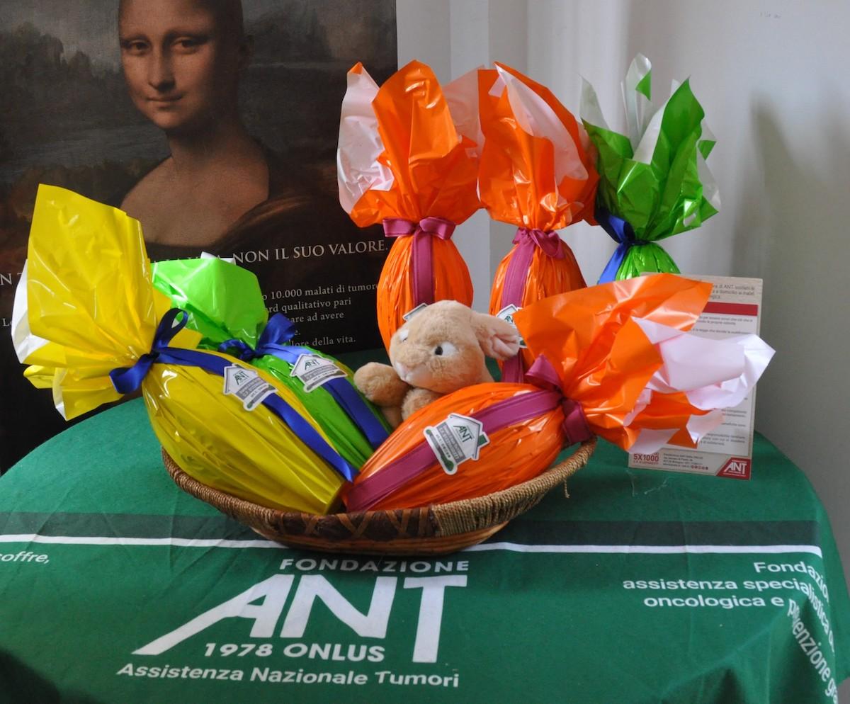 Pasqua nel segno della solidarietà - Torna l'uovo di cioccolato ANT