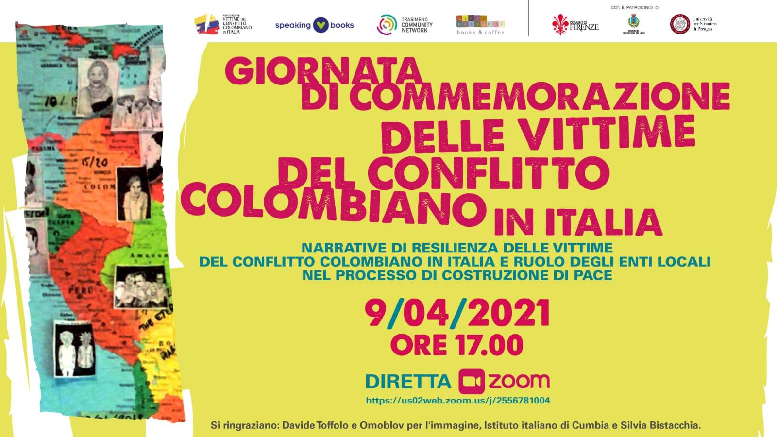 Giornata vittime conflitto colombiano – Anche in Italia la commemorazione