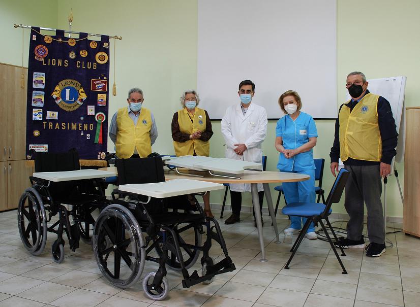 Passignano – Cori, nuove donazioni dal Lions Club Trasimeno