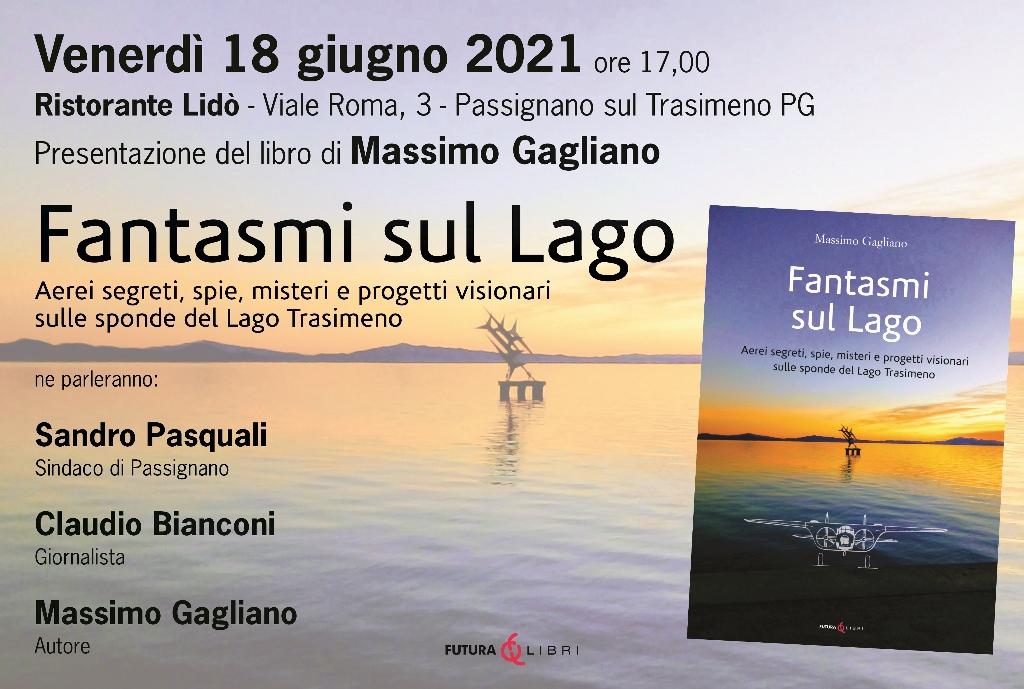 """Passignano – Libri, venerdì la presentazione di """"Fantasmi sul Lago"""""""