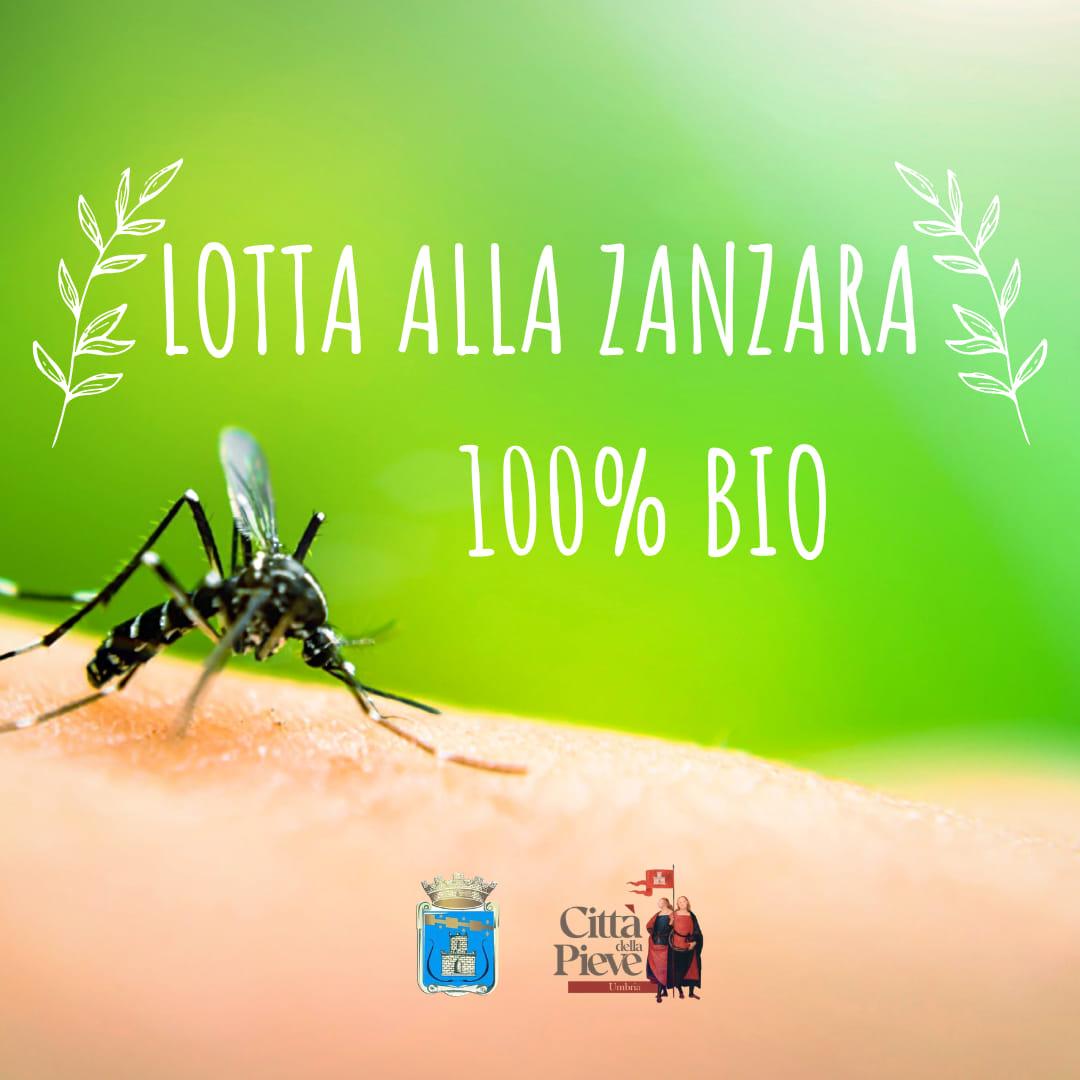 Città della Pieve – Lotta alle zanzare 100% biologica