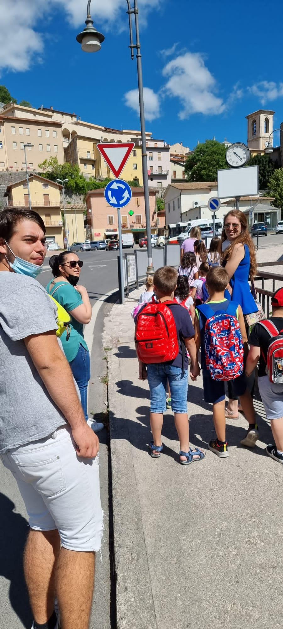 Cascia – Bilancio positivo per il Centro estivo organizzato in collaborazione con l'Ufficio comunale dei Servizi Sociali e la Cooperativa L'Incontro